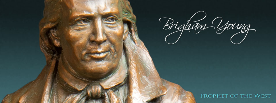 Brigham Young -36 inch Sculpture