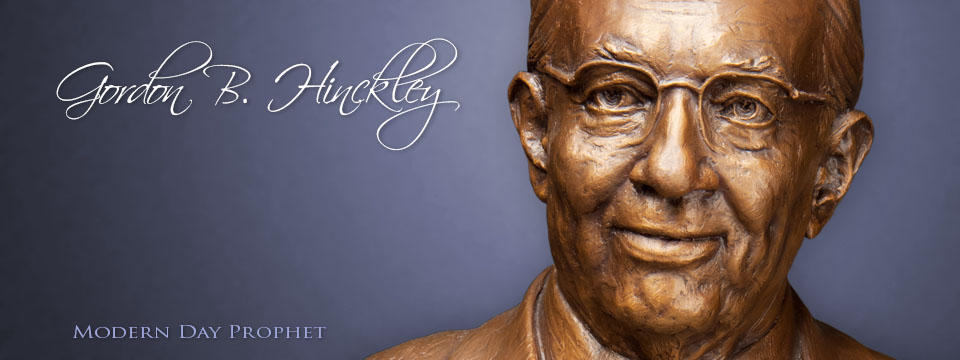 Gordon B. Hinkley Sculpture